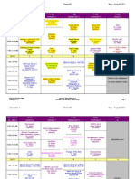Semester 2 Schedule.may2011.REVISED.051711