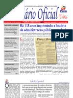 Diario Oficial Para Aniversario