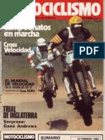 MOTOCICLISMO  NUM 647 FEBRERO 1980
