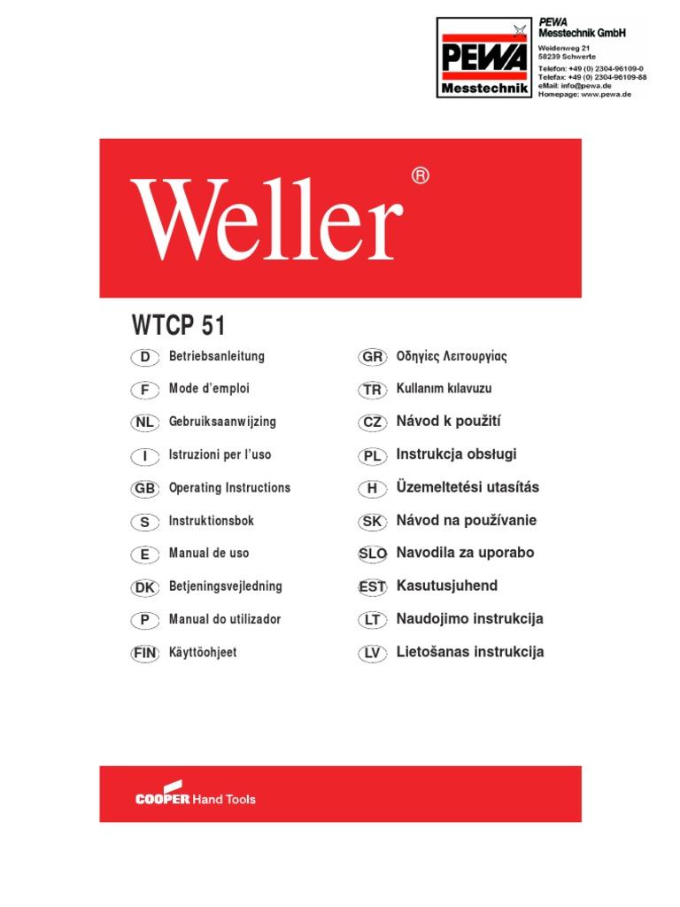 WELLER Punta saldante 1.6 mm PT-A8 x  stilo TCP e WTCP 425°C
