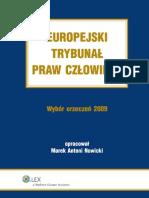 Europejski Trybunał Praw Człowieka. Wybór Orzeczeń 2009