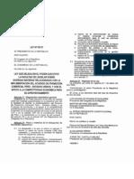 29157 - Ley Que Faculta Al PE de Legislar Sobre Diversas Materias as Con El TLC-EEUU - Leido