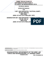 TM-9-6115-645-10  genset manual