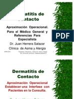 Dermatitis de Contacto Alérgica    Un   enfoque   operacional