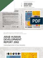 Arab Human Report 2002