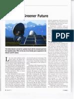 lndian Telecom - Towards a Greener Future