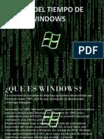 1. Linea Del Tiempo de Windows