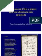 Transgénicos en Chile y ajustes para una utilización más apropiada -  Romilio Espejo