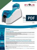 EVOLIS Dualys 3 Manual Tutorial Impresora de credenciales