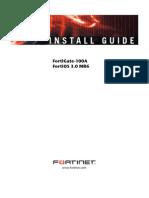 Configuracion de FortiGate-100A
