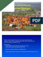 4-KULIAH PETROLOGI-KARBONAT 2011