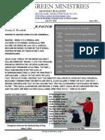 Evergreen Ministries Bulletin June 2011final
