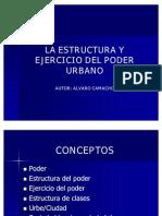 La Estructura y Ejercicio Del Poder Urbano 97 03