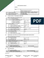 Bid Evaluation & Post-Qua Report