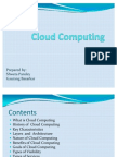 Cloud Computing- Final Report