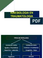 kinesiología en traumatologia