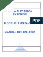 Manual de Silla de Ruedas Electrica