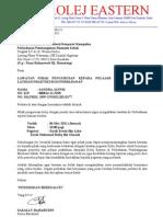 Surat Lawatan Pelajar Praktikal 2011