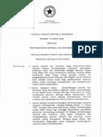 UU Minerba No 4 Tahun 2009