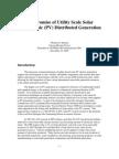 Hanson Utility Scale PV