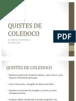 QUISTES DE COLEDOCO
