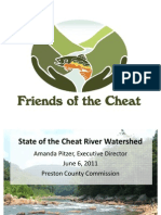 State of the Cheat River Watershed