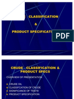 Crude & Prodcuts
