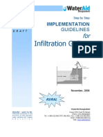 Guidelines for Infiltration Galleries
