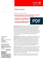China Cement HSBC