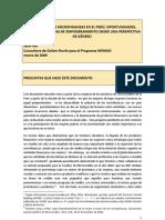 El Sector Financiero en El Peru Antecedentes