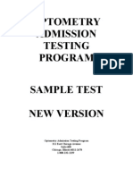 Oat Sample Test