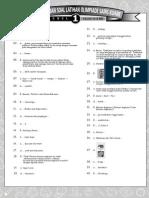 Jawab Latihan Final OSK 2011 Level 1
