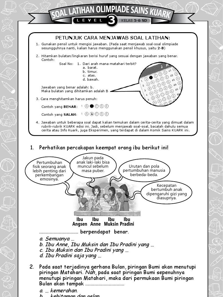 Soal Latihan Final OSK 2011 Level 3