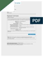 ATT UVerse Setup Registration