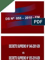 DS 046 VS DS 055