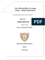 Case Study of the Profile of a Young Entrepreneur