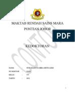 Contoh Folio Kerjaya