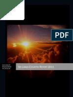 Srilanka Country Report-2011