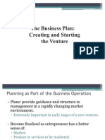Chapter 7 the Business Plan