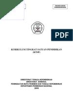 KTSP (Kurilulum Tingkat Satuan Pendidikan)