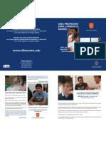 EDU Díptico Becas Educación