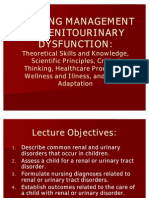 Genitourinary Dysfunction