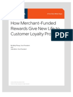 Merchant Funded Loyalty Whitepaper