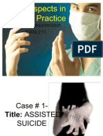 Legal Aspects in Nursing Practice Cases