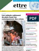 Lettre d'information du Système des Nations Unies à Madagascar- juin 2011(SNU - 2011)