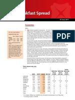 2011-06-10 DBS Daily Breakfast Spread