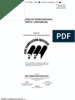 PFI ES-2-2000 Method of Dimension Ing Piping Assemblies