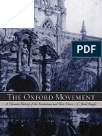 Brad Faught - The Oxford Movement - A Thematic History of the Tractarians and Their Times