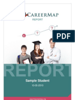 Careermap Sample Report