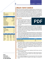 Bharti Airtel Ltd-Result Update